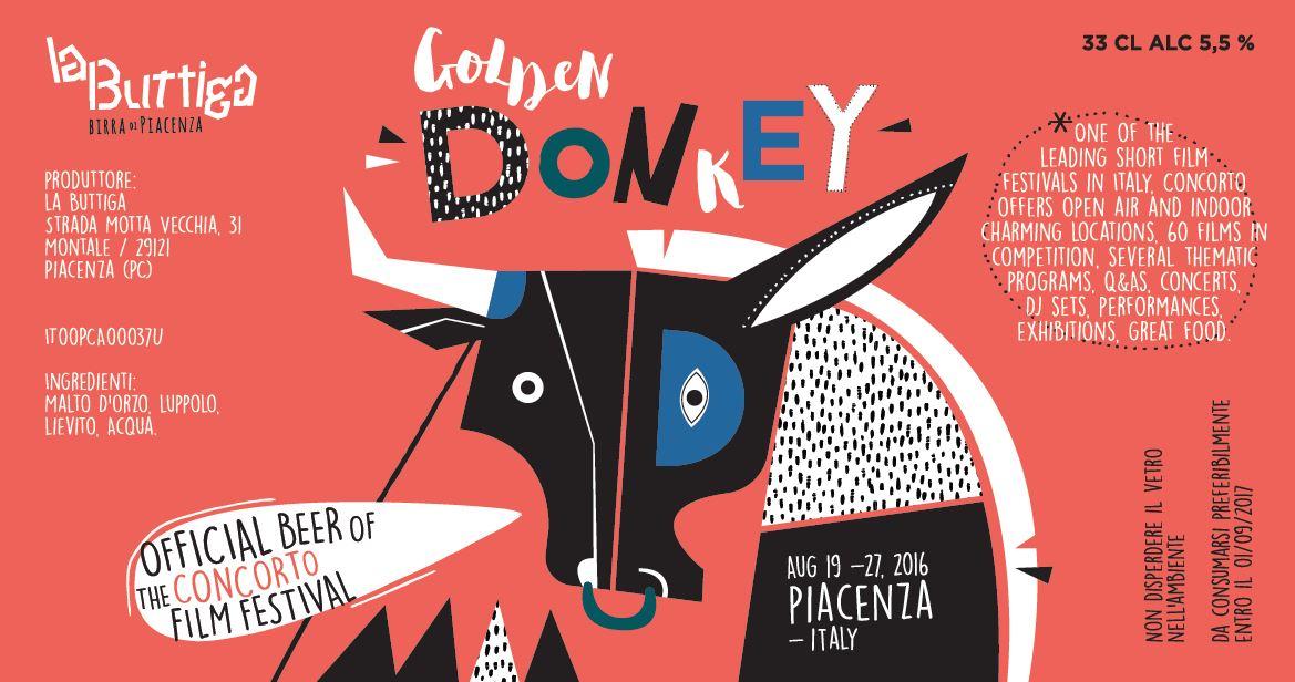 Arriva Golden Donkey, la birra firmata Buttiga & Concorto!