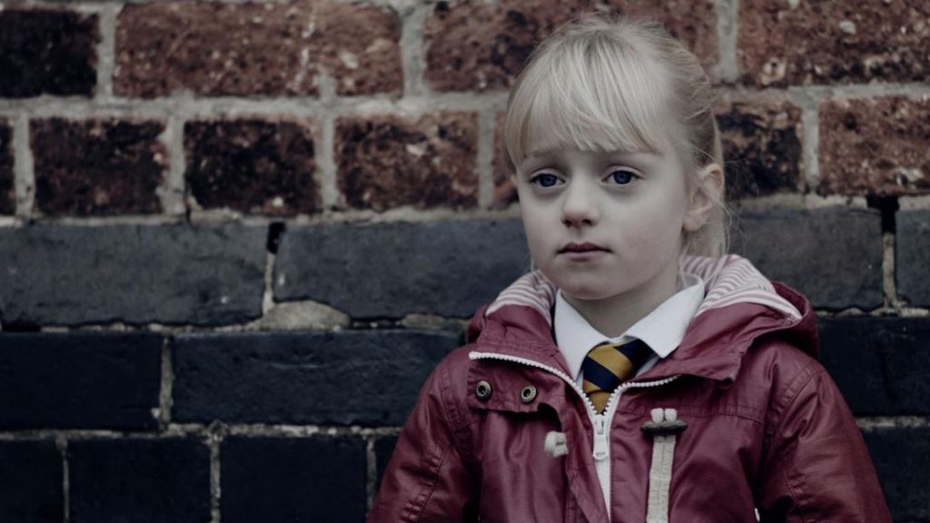 Frame from The Silent Child